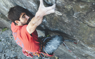 First repeat by Ignacio Mulero of The Meltdown 9a in Wales.